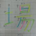 【小2】漢字の書き順がメチャクチャな子が少しマシになってきた…かも
